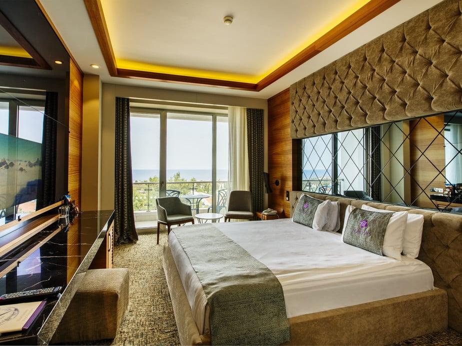 חדר במלון מלפס